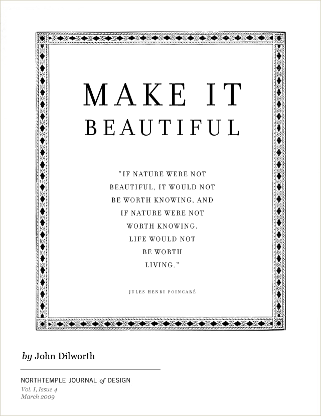 Make It Beautiful