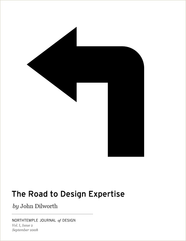 The Road to Design Expertise